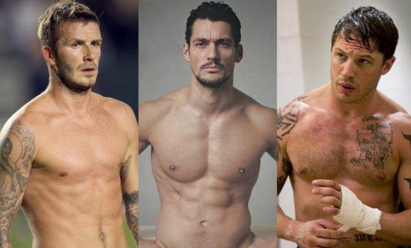 韩国型男肌肉生活照